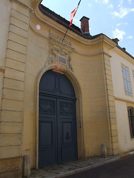 Photo du Monument Historique Sous-préfecture situé à Bar-sur-Aube