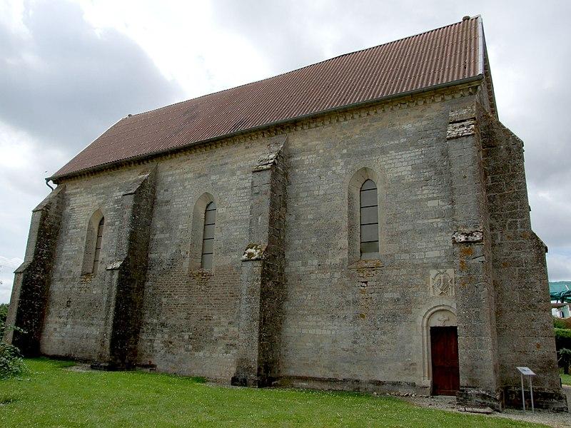 Photo du Monument Historique Chapelle d'Avalleur situé à Bar-sur-Seine