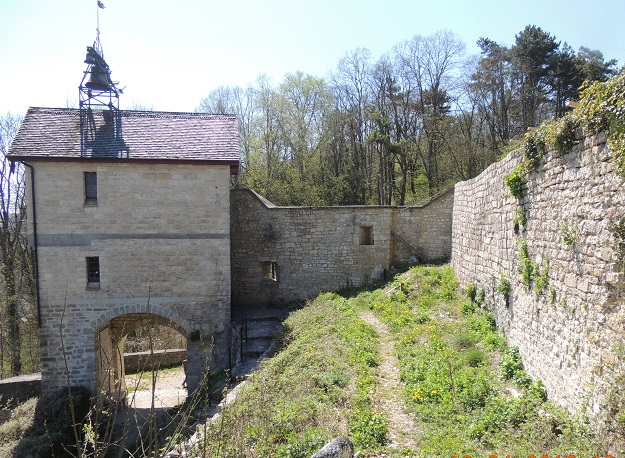 Photo du Monument Historique Château des comtes de Bar situé à Bar-sur-Seine