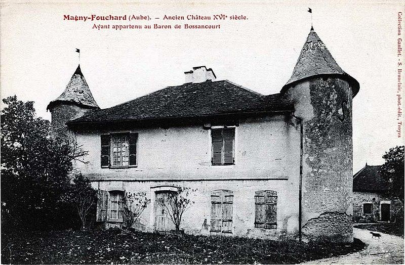 Photo du Monument Historique Château situé à Bossancourt
