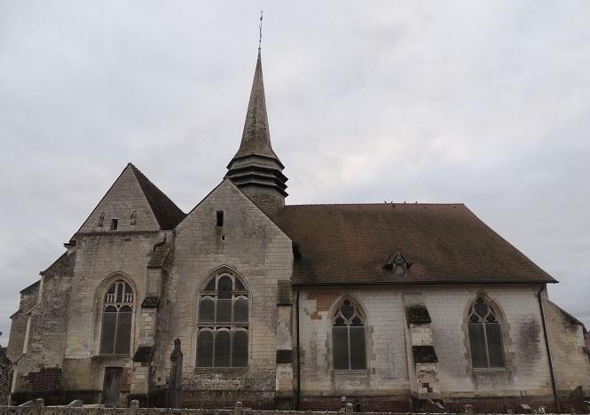 Photo du Monument Historique Eglise Saint-Loup situé à Bouy-Luxembourg