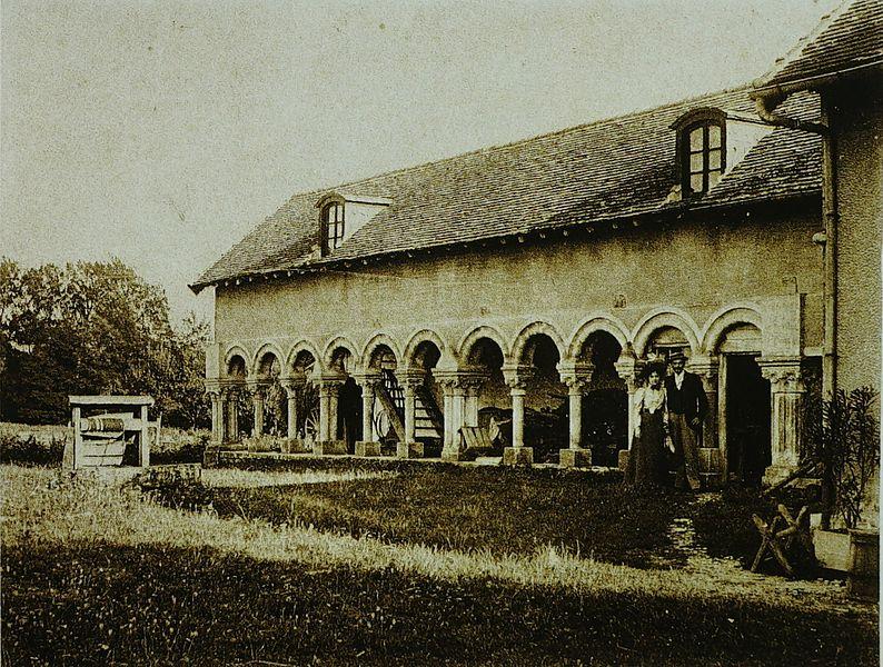 Photo du Monument Historique Abbaye de Basse-Fontaine situé à Brienne-la-Vieille