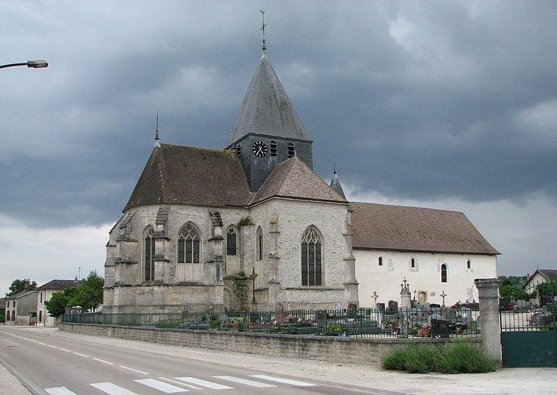 Photo du Monument Historique Eglise situé à Brienne-la-Vieille