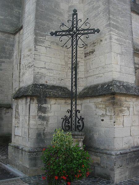 Photo du Monument Historique Croix de mission situé à Brienne-le-Château