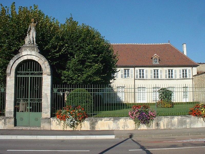 Photo du Monument Historique Ecole militaire situé à Brienne-le-Château