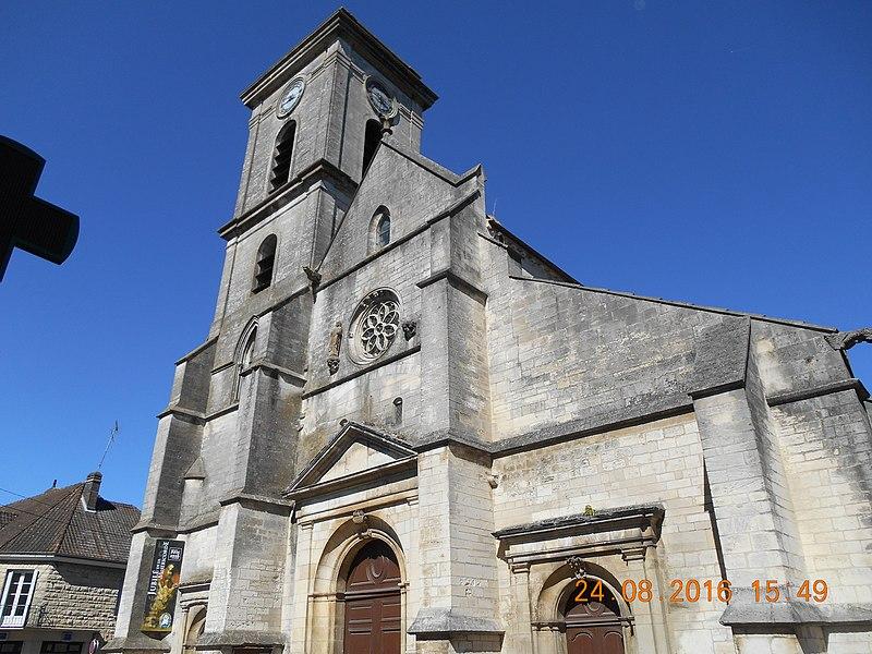 Photo du Monument Historique Eglise situé à Brienne-le-Château