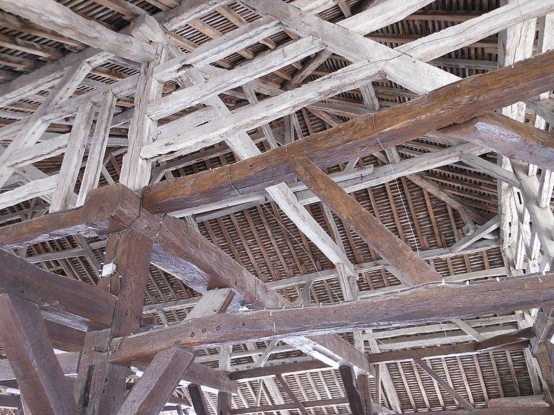 Photo du Monument Historique Halles (vieilles) situé à Brienne-le-Château