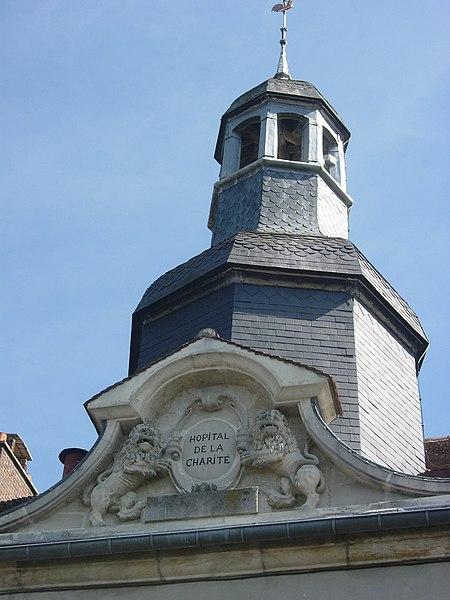 Photo du Monument Historique Hôpital situé à Brienne-le-Château