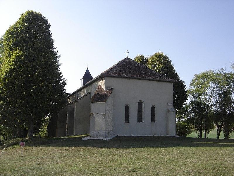 Photo du Monument Historique Chapelle de Mondeville situé à Champignol-lez-Mondeville