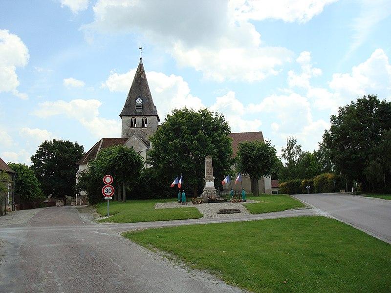 Photo du Monument Historique Eglise situé à Chapelle-Vallon