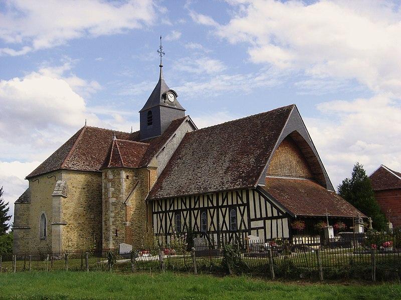 Photo du Monument Historique Eglise situé à Chauffour-lès-Bailly