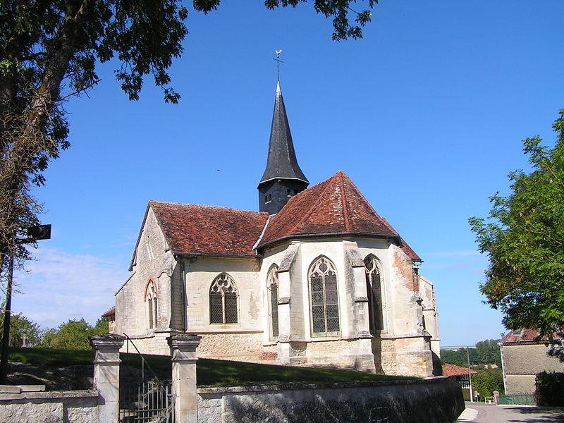 Photo du Monument Historique Eglise Saint-Gengoul de Chasséricourt situé à Chavanges