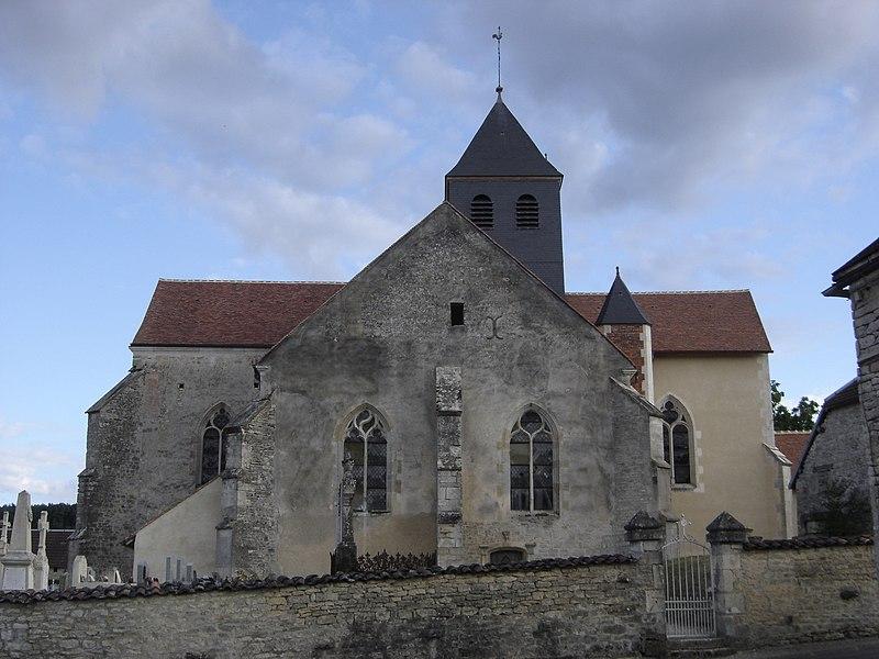Photo du Monument Historique Eglise Saint-Victor situé à Chervey