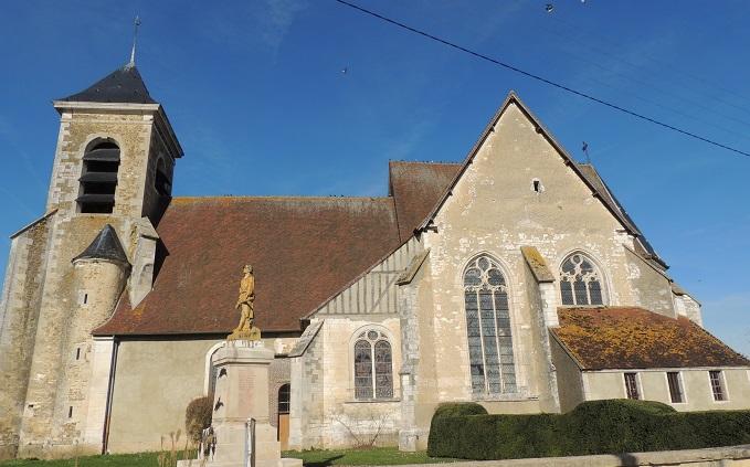Photo du Monument Historique Eglise Notre-Dame de l'Assomption situé à Chessy-les-Prés