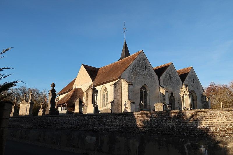 Photo du Monument Historique Eglise Saint-Maurice situé à Coclois