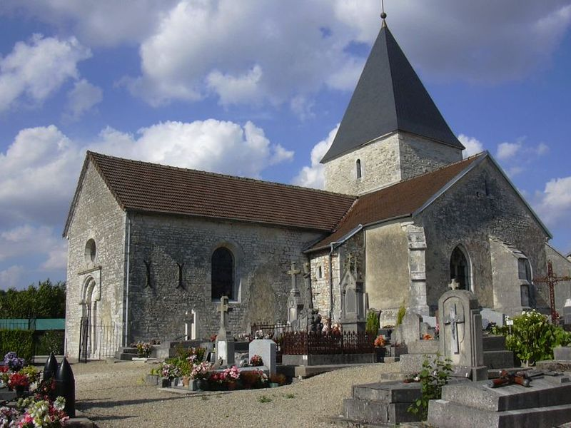Photo du Monument Historique Eglise situé à Colombé-le-Sec