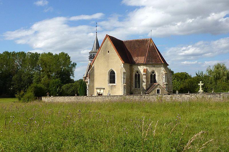 Photo du Monument Historique Eglise situé à Courtaoult