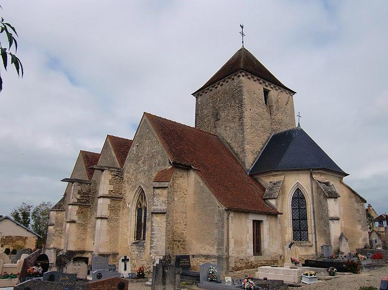 Photo du Monument Historique Eglise situé à Courtenot