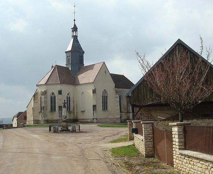 Photo du Monument Historique Eglise situé à Cussangy