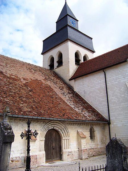 Photo du Monument Historique Eglise situé à Droupt-Saint-Basle