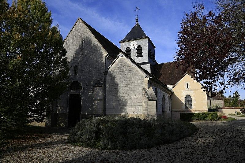 Photo du Monument Historique Eglise situé à Droupt-Sainte-Marie