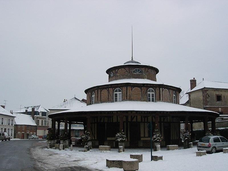 Photo du Monument Historique Halle situé à Ervy-le-Châtel