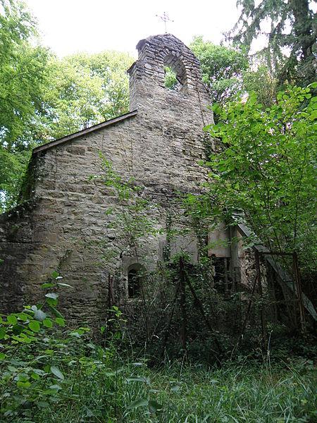 Photo du Monument Historique Chapelle de Servigny situé à Essoyes