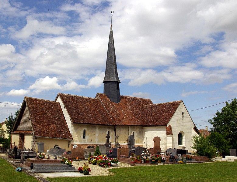 Photo du Monument Historique Eglise situé à Feuges