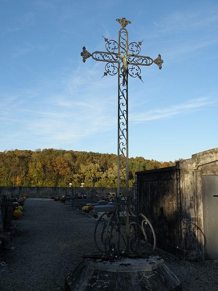 Photo du Monument Historique Croix en fer situé à Fouchères
