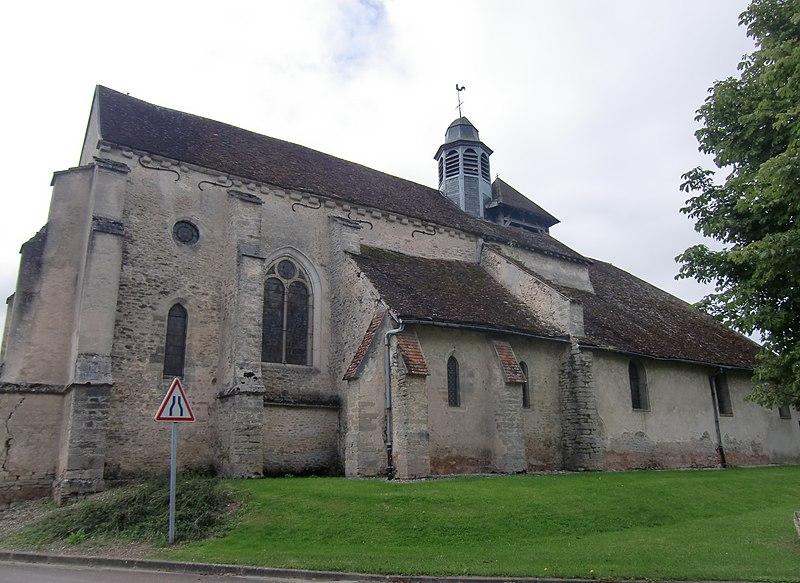 Photo du Monument Historique Eglise situé à Fouchères
