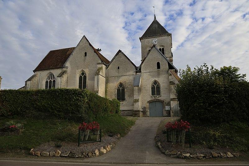 Photo du Monument Historique Eglise Saint-Pierre-Saint-Paul situé à Les Grandes-Chapelles