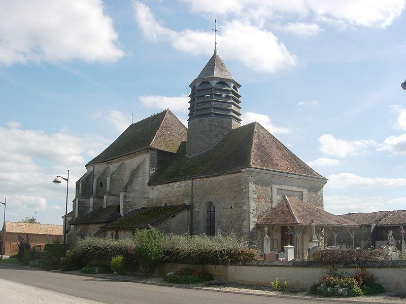 Photo du Monument Historique Eglise Saint-Nicolas situé à Hampigny