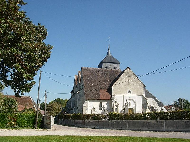 Photo du Monument Historique Eglise de l'Assomption situé à Herbisse