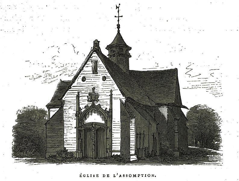 Photo du Monument Historique Eglise situé à Javernant
