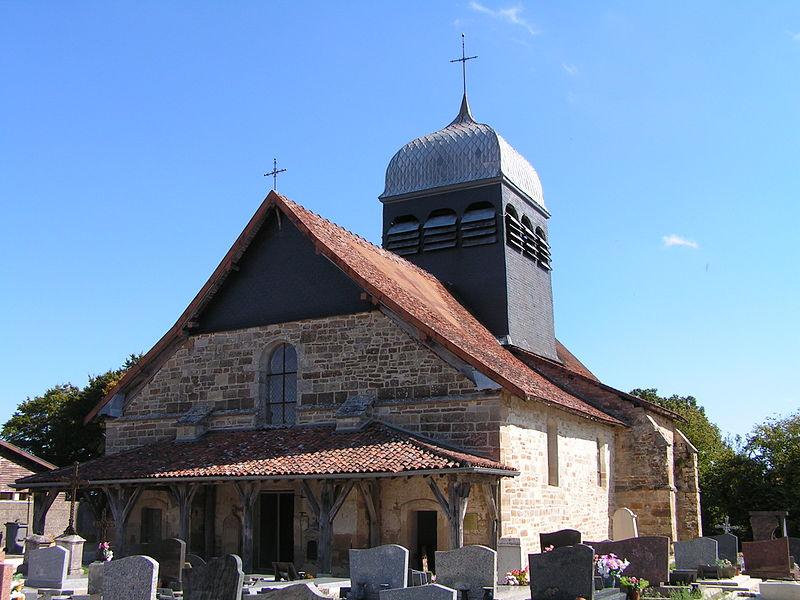 Photo du Monument Historique Eglise Saint-Pierre-ès-Liens situé à Joncreuil