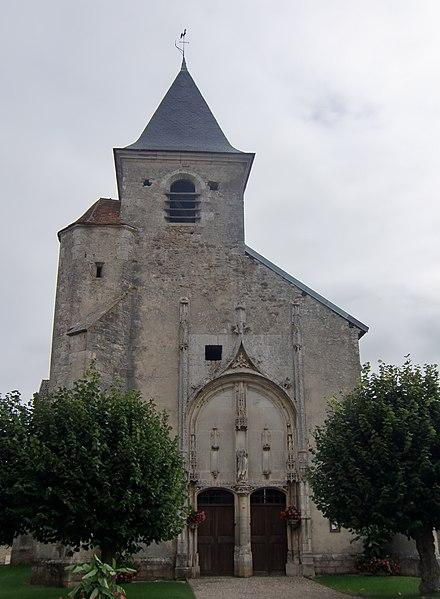 Photo du Monument Historique Eglise situé à Jully-sur-Sarce