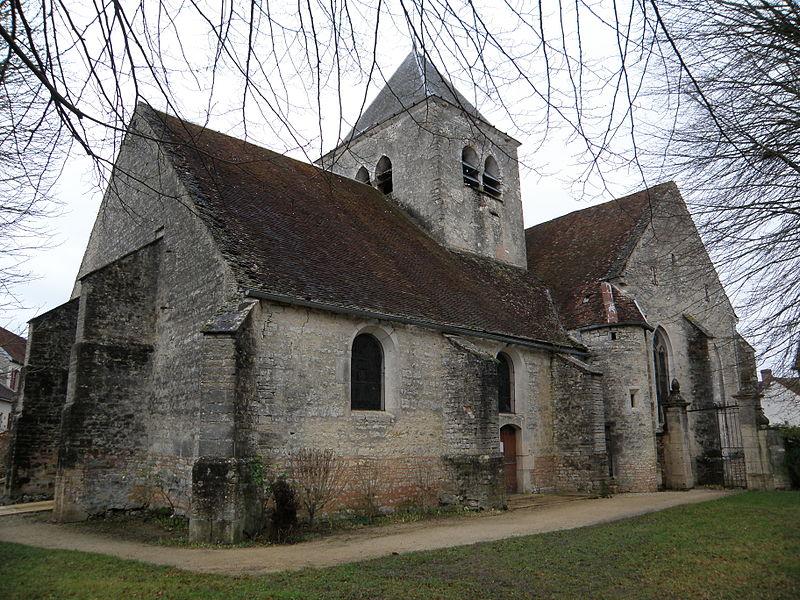Photo du Monument Historique Eglise de l'Assomption de la Vierge situé à Landreville