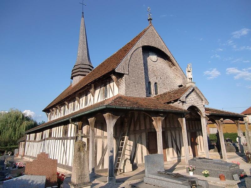 Photo du Monument Historique Eglise situé à Lentilles