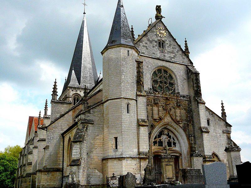 Photo du Monument Historique Eglise situé à Lhuître