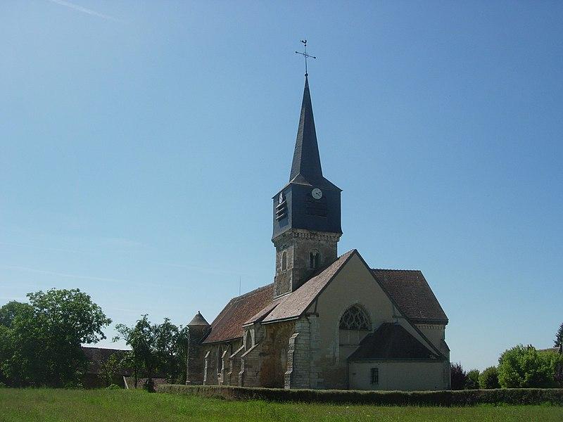 Photo du Monument Historique Eglise situé à Lignières