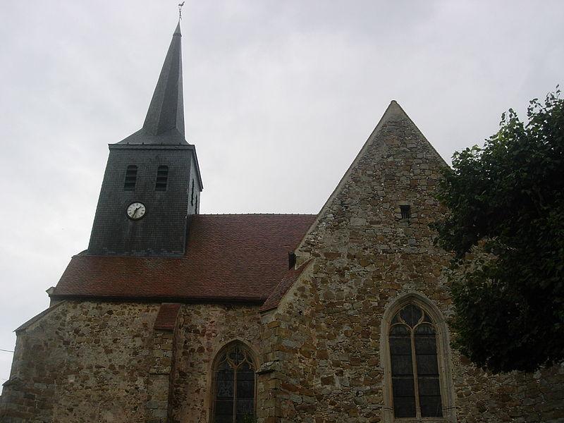 Photo du Monument Historique Eglise situé à Louptière-Thénard (La)