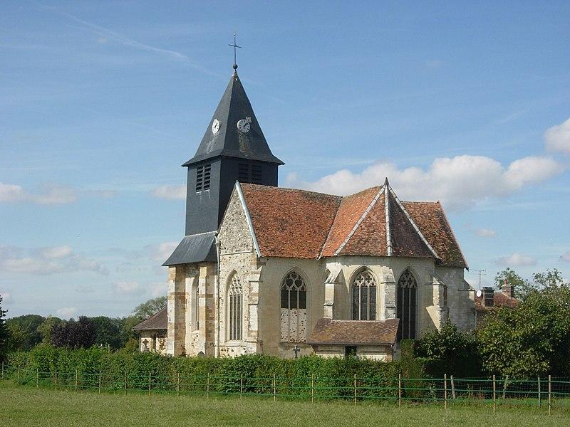 Photo du Monument Historique Eglise situé à Maizières-lès-Brienne