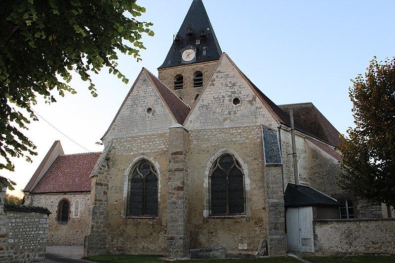 Photo du Monument Historique Eglise situé à Marcilly-le-Hayer