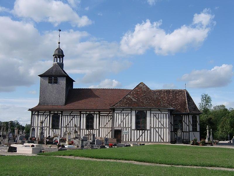Photo du Monument Historique Eglise situé à Mathaux