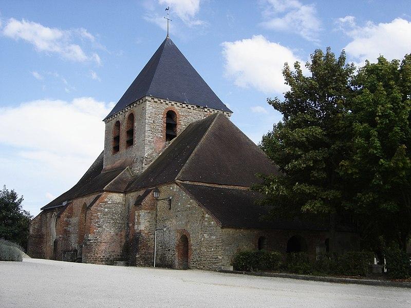 Photo du Monument Historique Eglise situé à Mesnil-Saint-Père