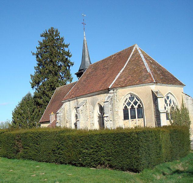Photo du Monument Historique Eglise situé à Metz-Robert
