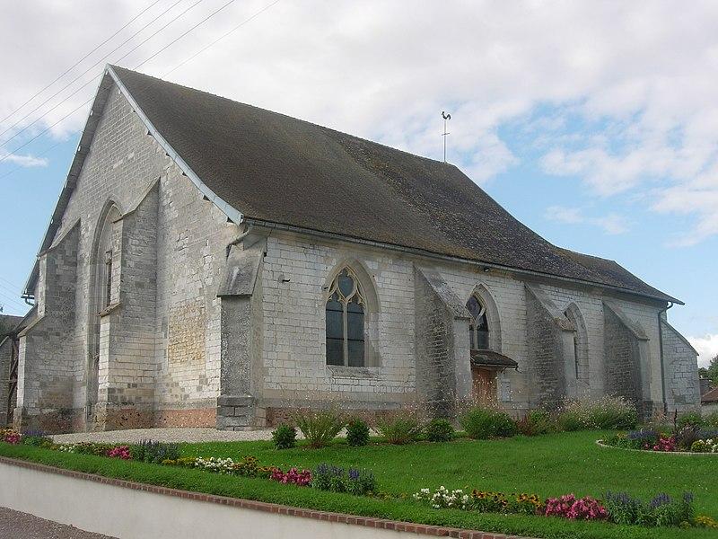 Photo du Monument Historique Eglise Sainte-Croix situé à Montgueux