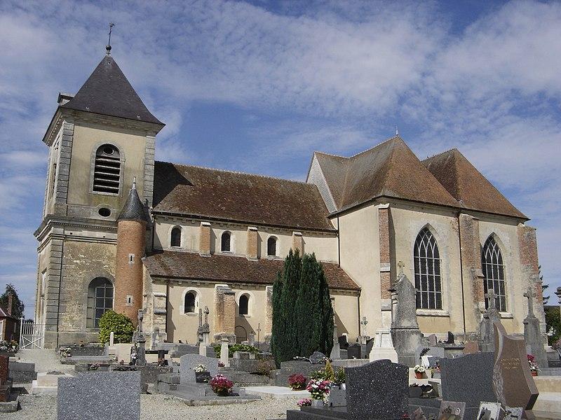 Photo du Monument Historique Eglise Notre-Dame-de-l'Assomption situé à Montiéramey