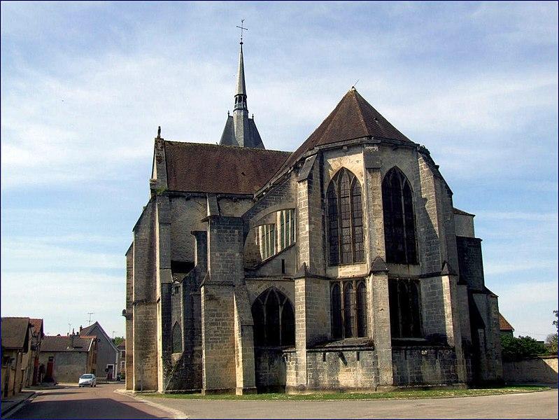 Photo du Monument Historique Eglise Saint-Pierre situé à Mussy-sur-Seine