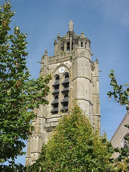 Photo du Monument Historique Eglise Saint-Laurent situé à Nogent-sur-Seine